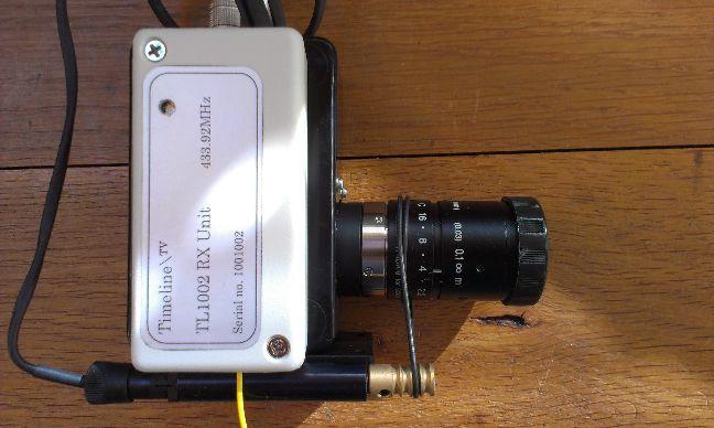 RF remote camera control